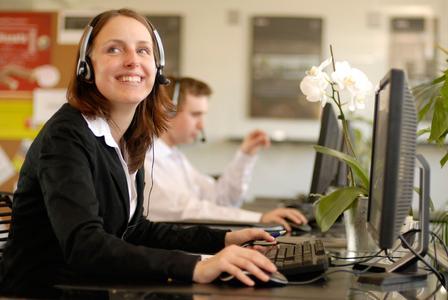 Zuzana Kubikova, prämierte Call Center Mitarbeiterin, CCC Bratislava