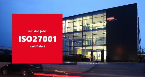 ISO-Zertifizierung Kittelberger media solutions GmbH