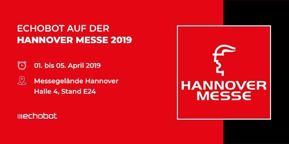 Echobot auf der Hannover Messe 2019
