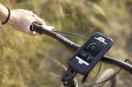 With the VELODAPTIC app, cyclists can create customized shifting programs to suit their riding style