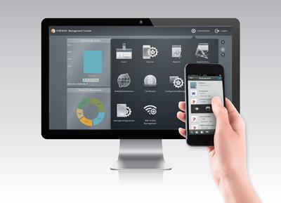 Cortado Corporate Server ermöglicht die Umsetzung einer sicheren Enterprise-Mobility-Strategie mit iOS-Geräten. Auch für iOS 7 wird Cortado eine Version herausbringen, die das Apple OS perfekt ergänzt
