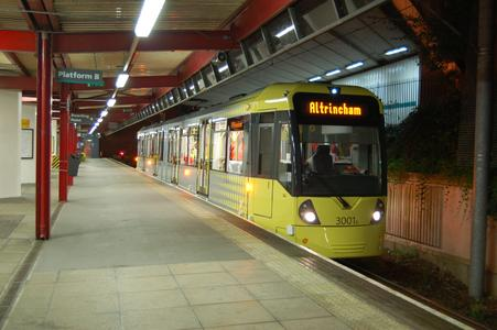 Further Purchasing Option: Manchester orders an additional twelve Light Rail Vehicles from Bombardier and Vossloh Kiepe