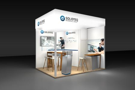 Solidteq AMX Messestand