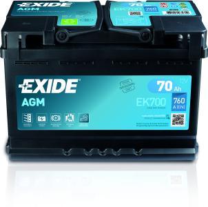 Exide AGM Front