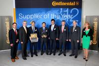 """Supplier of the Year 2012"":ROHM von Continental mit ""Quality Award"" ausgezeichnet"
