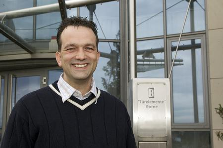 Jörg Otto - Leiter Logistik bei Türelemente Borne