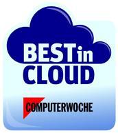 Best in Cloud 2012 Logo