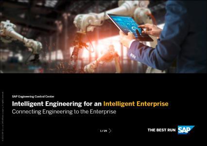 Die aktualisierte Broschüre zu SAP Engineering Control Center von SAP unterstreicht die hohe Relevanz der Lösung im Kontext SAP PLM.