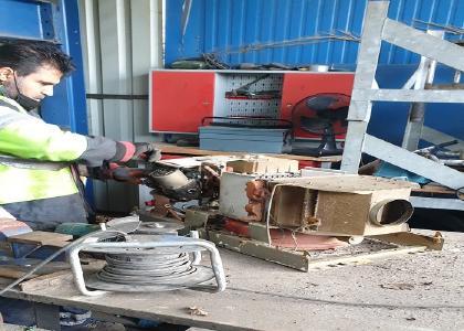 Schrottabholung Recklinghausen zum Kunden Altmetall kostenlos ab