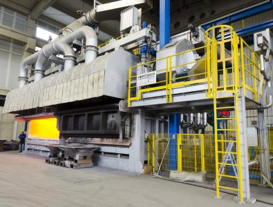 Hertwich Ecomelt PS Furnace