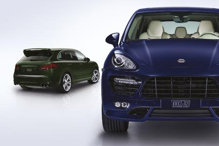 World premiere TECHART for Porsche Cayenne S Diesel