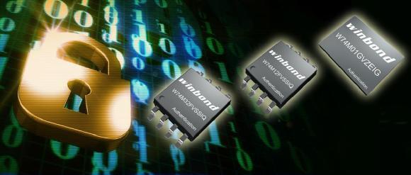 Authentication Flash Speicher Familie W74M von Winbond