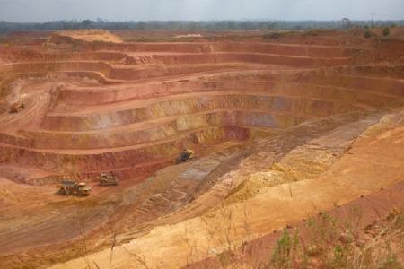Die Ity-Mine; Foto: Endeavour Mining