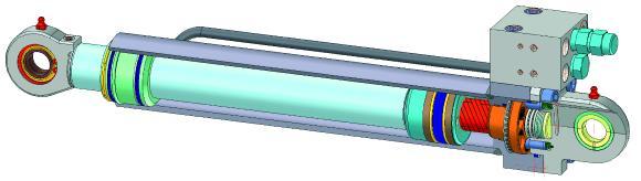 Den Verriegelungszylinder von Neumeister Hydraulik gibt es jetzt auch mit einem Kolben-Durchmesser von 90 mm. Mit der neuen Baugröße sind eine Vielzahl weiterer Anwendungen möglich.