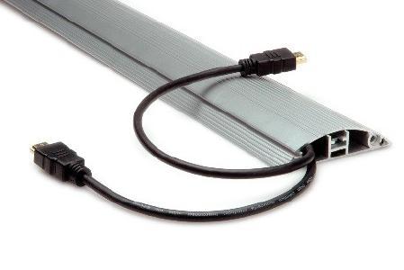 HDMI Kabel mit superelastischem Außenmantel, für extrem flexible Anwendungen in Kabelkanälen, Kabelschächten oder Zwischenwänden