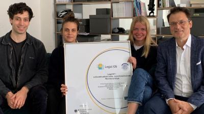 Berliner Legal Tech Startup Legal OS startet mit Fördermitteln durch