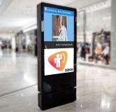 DSSHOW mit Gestensteuerung, Digital Signage mit berührungsloser Interaktion