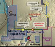 Corvus Gold Announces Brand New Oxide Gold Discovery at the Lynnda Strip Target, 2.5 kilometres North of the Mother Lode Deposit with 44m @ 0.90 g/t Gold and 20m @ 0.74 g/t Gold within 197m @ 0.44 g/t Gold