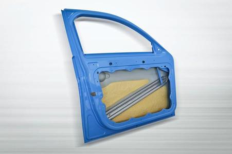 InCar®plus door module with PU-reinforced outer skin