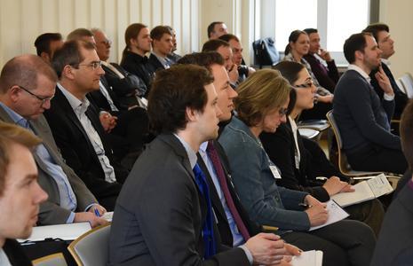 """Etwa 80 internationale Gäste kamen zum CCeV-Thementag """"Tailored Fiber Placement"""" ans Leibniz-Institut für Polymerforschung Dresden e.V. (IPF)"""