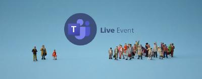 From team meeting to live event in Office 365
