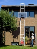 Toplift ECO with solar panel platform