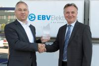 Klaus Michel, General Manager Distribution Sales, Toshiba & Slobodan Puljarevic, President EBV Elektronik