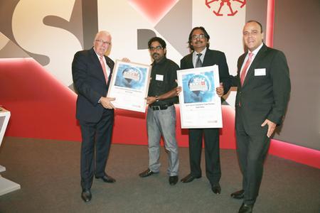 Verleihung OSPI Status für Keck Genesis Exhibitions in Indien