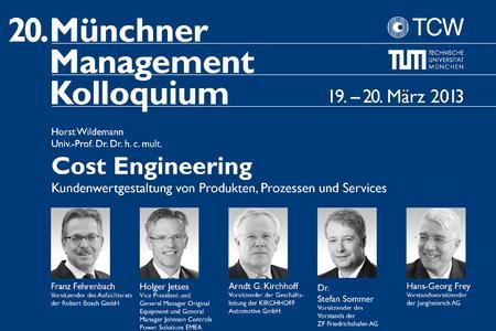 20. Münchner Management Kolloquium