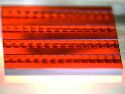 Mikrolinsenarray aus Galliumphosphid