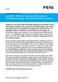 [PDF] Pressemitteilung: myAXXESS  - FEIG führt innovatives RFID-System zur vereinfachten Zugangs- und Zufahrtskontrolle im Markt ein