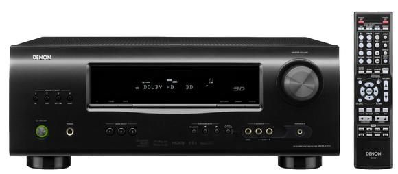 AVR 1311 Black Front view