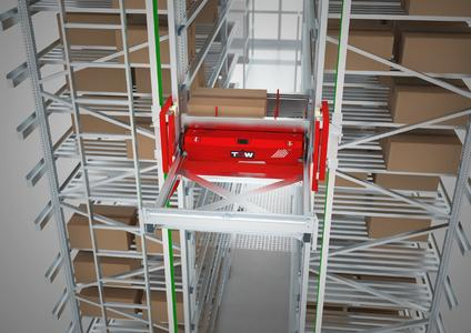 Intelligent lightweight construction makes TGW's Stingray shuttle solution extremely energy efficient, Foto: TGW Logistics Group GmbH