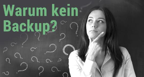 Datenrettung Spezial: Warum führen wir kein Backup durch? Foto: Fotolia.de
