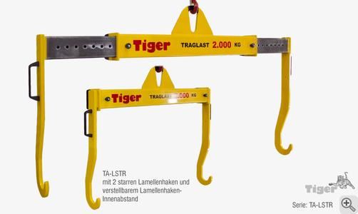 TIGER Lamellenhakentraverse Serie TA-LS
