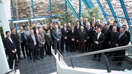 Zahlreiche Gäste aus Unternehmen und wissenschaftlichen Einrichtungen waren zur Gründungsversammlung der Regionalabteilung CC Südwest des Carbon Composites e.V. nach Kaiserslautern gekommen