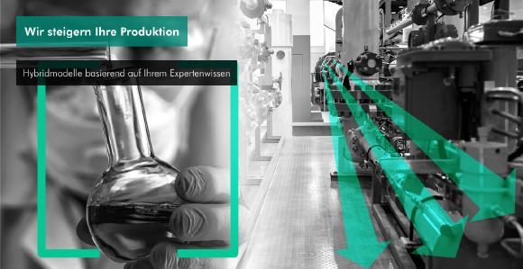 Wir verbessern Ihre Produktion mit Hybridmodellen, welche auf Ihrem Expertenwissen basieren