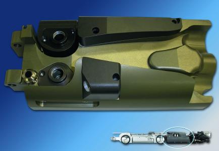 经过硬质阳极氧化处理的下水道检测系统外壳