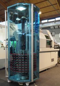 Teilespeicher DepotMax an einer Drehmaschine der Firma Citizen