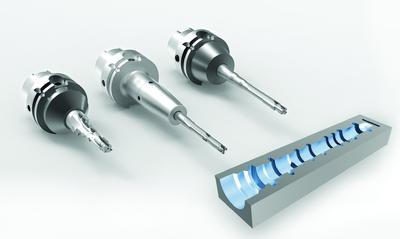 Productivity increase: Multi-bladed PCD fine boring tools for valve housings