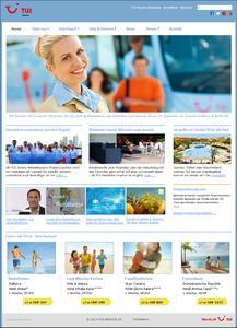 Webdesign Agentur Joomla - Beispiel: TUI Service AG