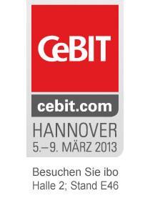 ibo auf der CeBIT 2013