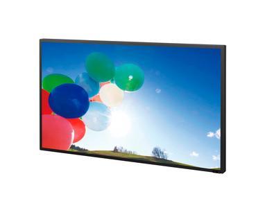 LCD-Panels und Kühlungssysteme ermöglichen es, das Display waagerecht oder senkrecht zu montieren (hier: FWD-S46H2)