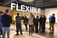 Ein voller Erfolg war der Tag der Logistik bei Dematic: Mehr als 50 Besucher folgten der Einladung des Unternehmens ins Imagination Center. (Foto: Dematic)
