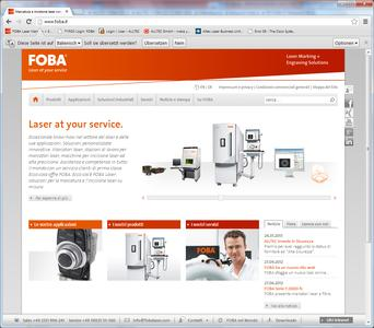 New homepage - www.foba.it