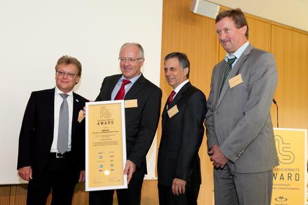 Westfa GmbH erhält Anlagensicherheits-Award 2012