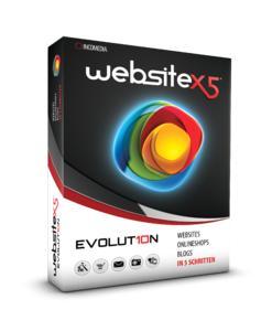 Schnell und einfach zur eigenben Website mit WebSite X5 Evolution (Incomedia/Avanquest)