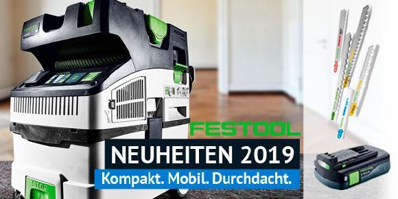 Festool Neuheiten 2019