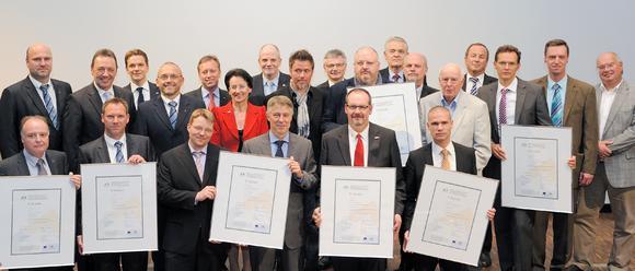 MRN Cluster E&U Preisverleihung Energieeffizienz