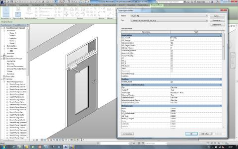 Neben 3D-Daten sind auch komplette Elementeigenschaften dargestellt / Foto: GEZE GmbH